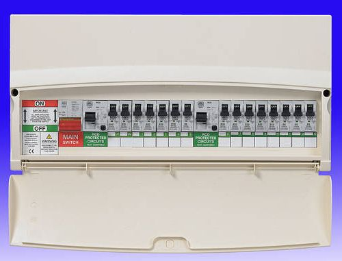 fuse board paddington w2 london consumer unit